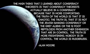 Conspiracy Theo... Alien Philosophy Quotes