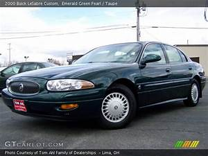 Emerald Green Pearl - 2000 Buick Lesabre Custom - Taupe Interior