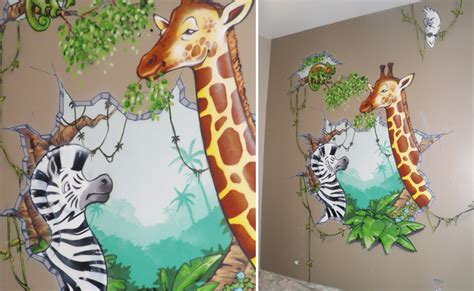chambre garcon jungle decoration jungle pour chambre