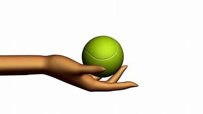 Clipart Ball Tennis Sports Hand Abstract Holding
