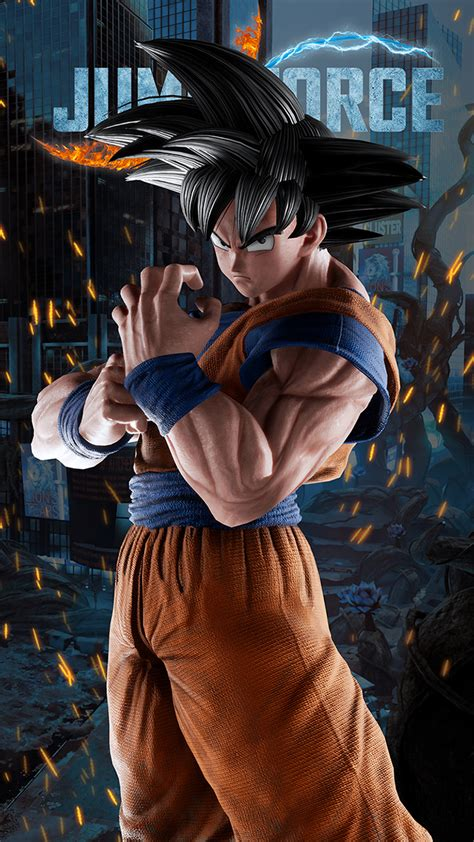 jump force goku wallpapers cat  monocle