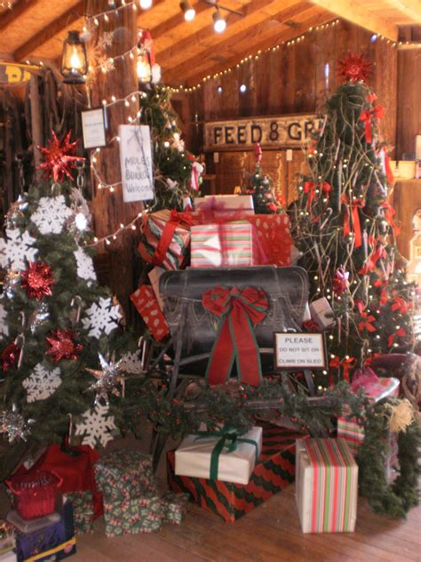 fashioned christmas barn holiday boutique