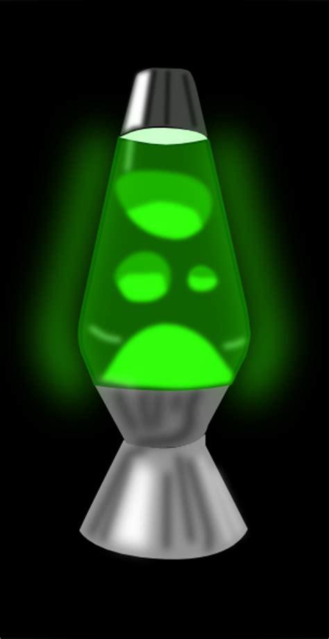 lava lamp glowing green clip art  clkercom vector