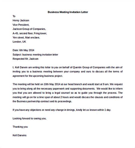 business letter template options   format