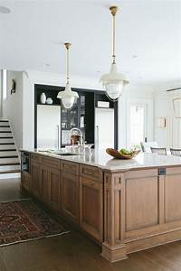 Kitchen Island Bench Like This Wood Rest Of Kitchen To