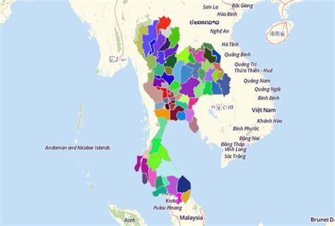 map territories  asia
