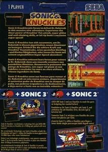 Sonic U0026 Knuckles For Sega Genesis Sales Wiki Release