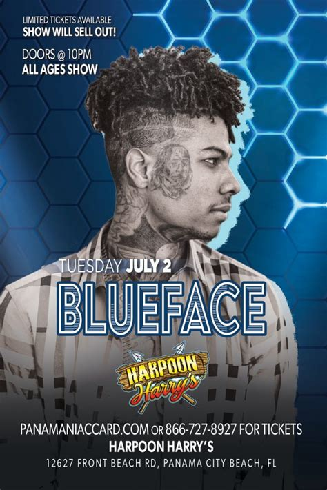 blueface  coming july  panama city beach spring break