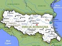 Cartina Topografica Emilia Romagna.Regione Emilia Romagna Mapa Mental