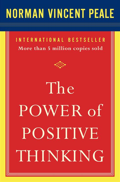 power  positive thinking book  dr norman