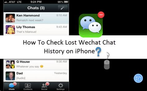 how to check history on iphone how to check lost wechat chat history on iphone