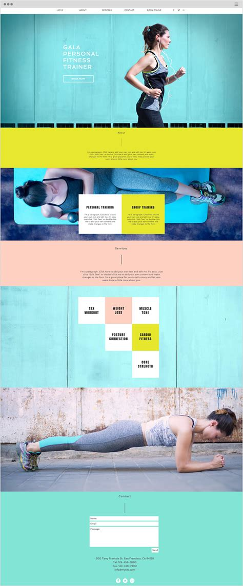 transferring template to new website wix 14 wix website exles that will knock your socks off