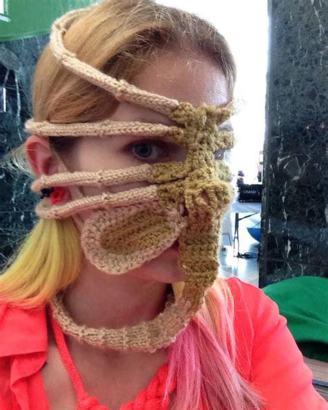 weird  fun knitted hats designbump