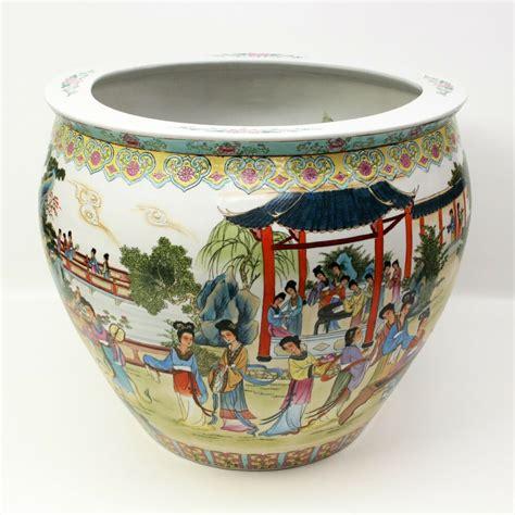 Porcelain Vase by Jingdezhen Ware Painted White Porcelain