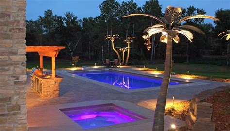 Swimming Pool Lighting Ideas-landscaping Network