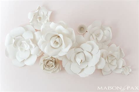 paper flowers wall decor uk  flower site