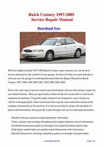 Service Manual  1997 Buick Century Owners Manual Fuses