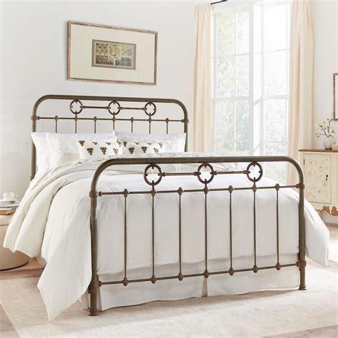 leggett and platt metal headboards leggett and platt madera rustic green complete bed