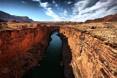 River Canyon Colorado Grand Arizona Water Bottom