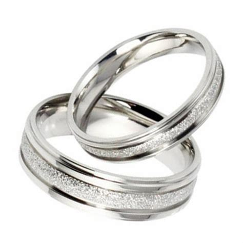silver wedding rings wedding promise