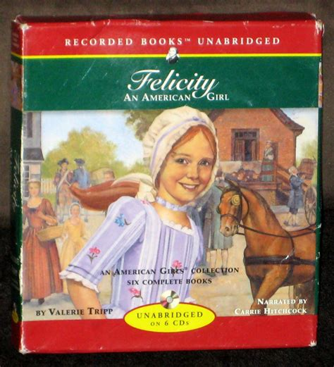 Felicity An American Girl Recorded Books On Cd Girls