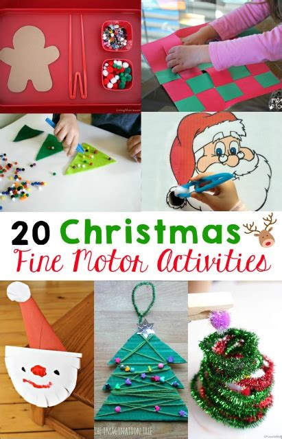 motor skills activities mess for less 869 | 20 Christmas fine motor skills activities