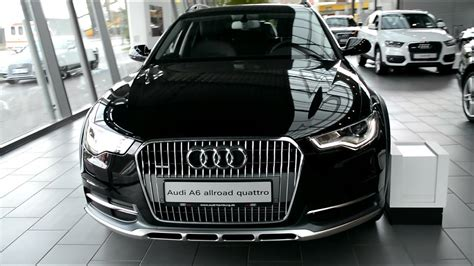 audi  allroad quattro exterior  interior youtube