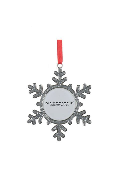 newbridge christmas hanging snowflake frame decoration