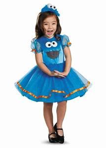 Sesame Street Cookie Monster Toddler Girls Tutu Costume ...