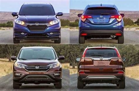 2016 Honda Crv Vs 2016 Honda Hr-v Comparison