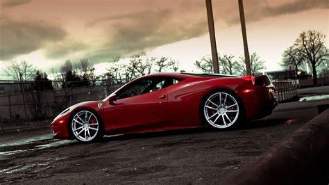 Ferrari Red Stylish Wheels 4k Ultra Hd Wallpaper