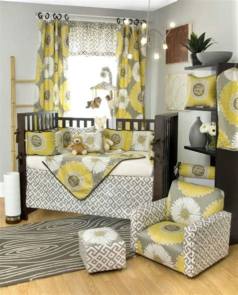 grey and yellow nursery d 233 cor grey space