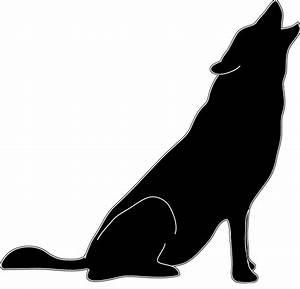 Howling wolf clip art dayasriohe top 2 - Clipartix