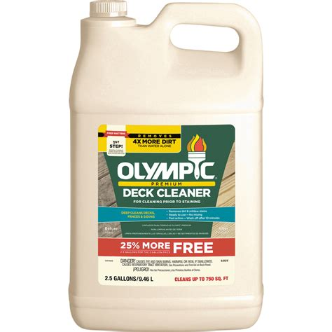 shop olympic olympic premium deck cleaner  lowescom