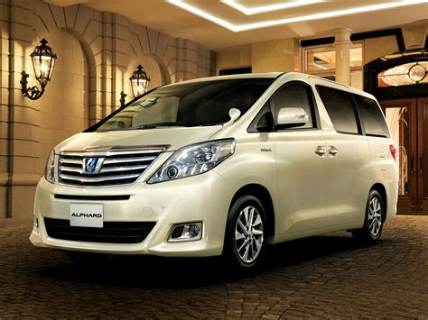 toyota alphard hybrid g quot l package quot 4wd anh25w 11 2011