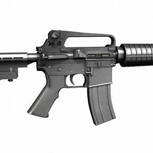 Colt M4A1 Carbine Assault rifle 3D Model OBJ 3DS FBX C4D ...