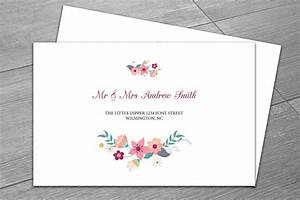 wedding envelope template invitation templates With wedding invitation envelope layout