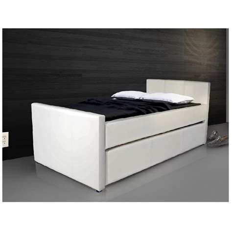 xl trundle bed casabianca duette leather upholstered xl trundle bed