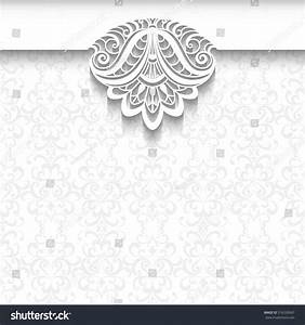 vector background neutral color elegant greeting stock With fancy wedding invitations vector