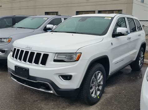 jeep cherokee power wheels 2016 jeep grand cherokee limited 4x4 white vaughan