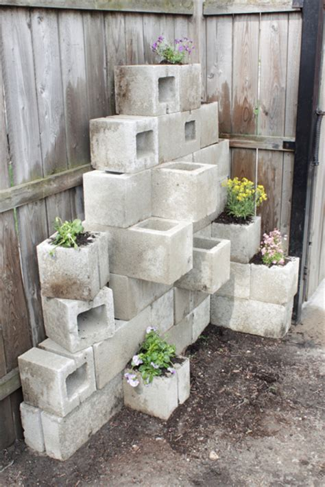awesome diy outdoor planters shelterness