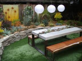 Outdoor Cement Bench by Commercial Picnic Tables Landscape Contemporary With