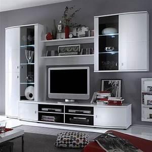 Grand Meuble Tv Bibliotheque Solutions Pour La
