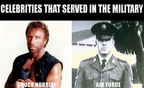 chuck norris air force chuck norris air force famous celebrities in military