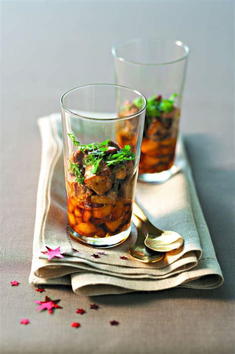 cuisine de de noel recettes de verrines de noël salées