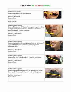 30 Respirator Facial Hair Diagram