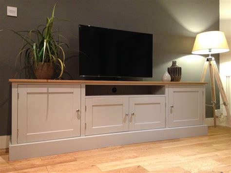 Tv Sideboard Cabinets by 7ft Solid Pine Oak Tv Unit Nest At Number 20