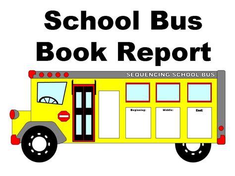 School Bus Book Report