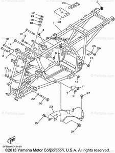 Yamaha Atv 2002 Oem Parts Diagram For Frame