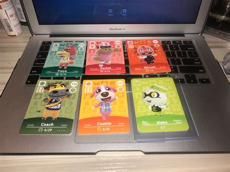 Ships from and sold by nfc card cranny. These are my available amiibo cards! (Viché works...